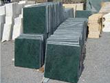 Verde Guatemala lajes de mármore verde telhas
