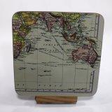 El mapa Imprimir posavasos, con diseño personalizado