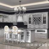 食料貯蔵室の高級家具は白い現代食器棚をカスタム設計する