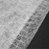 Tela semitransparente sentó Nonwoven Tejido reforzado para suelos de PVC, alfombras, etc.