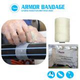 Enveloppement de réparation de bande Fibre Fix Wrap joint Kit de réparation rapide pour tuyau de fuite