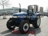 China 4WD 100HP 110HP 1104 de tratores agrícolas com carregador dianteiro