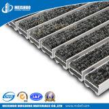 Esteiras de alumínio Recessed do assoalho de loja para o controle de poeira