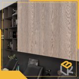 Papel Impregnatde Melamina decorativos em madeira de nogueira para mobiliário, piso