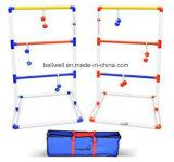 Напольная игра Toss трапа с 6 Bolos и переносными сумками