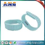 Manchetten van de Armbanden van het Silicone RFID van Rewearable de Milieuvriendelijke voor Overleg