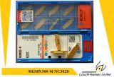 Korloy Mgmn200-M  Pieza inserta que muele Nc3020 para la pieza inserta del carburo de la herramienta que muele