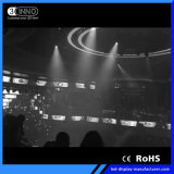 P4mm Höhe erneuern Innen-LED Bildschirm Kinetik RGB-