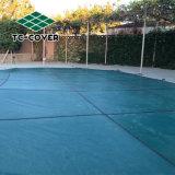 Facilidad de instalación Universal Leaf suciedad la piscina cubierta de seguridad para cualquier piscina al aire libre