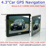 """4.3"""" Carro elevador Marine navegação GPS com cortex A7, navegador GPS Bluetooth, ISDB-T, TV, transmissor FM TMC, AV-na câmara traseira, Sistema de Navegação GPS do dispositivo portátil"""