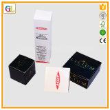 El lujo de encargo perfuma los rectángulos de papel del conjunto de los cosméticos