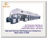 Movimentação de eixo eletrônica, imprensa de impressão automática de alta velocidade do Rotogravure (DLYA-131250D)