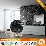 金点の浴室、Backsplash (M855005)のためのガラスモザイク・タイルとの黒