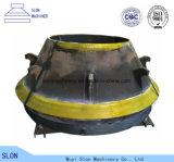 Pièces normales concaves de Symons élevé 4 de manganèse ' et de manteau de cône de broyeur