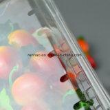 Caixa plástica de dobramento do empacotamento de alimento dos produtos de alimento Pet/PVC/PP/PS do produto comestível