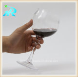14oz cálice plástico barato, vidro de vinho Stemless