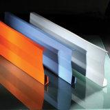 Kostenpreis-akustische feuerbeständige verschobene Decken-Aluminiumfliese