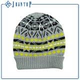 Sombrero animal de la gorrita tejida del Knit del modelo del oso con impreso
