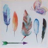 Frische u. einfache Art-Blumen-handgemachtes Ölgemälde