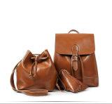 3PCS sacchetto di spalla stabilito della signora Backpack Bucket Purse Fashion (WDL0845)