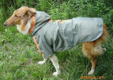 Vêtements r3fléchissants de crabot de couche de pluie d'animal familier pour de grands crabots