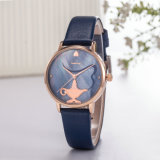 Het Horloge van de Luxe van het Horloge van de Mode van de Vervaardiging van het Horloge van het Embleem van de douane (wy-125E)