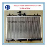 2014 최신 판매 고품질 닛산 Tiida Oe를 위한 알루미늄에 의하여 놋쇠로 만들어지는 용접 차 방열기: 21460-ED500