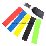 Exercise Bands with Instructional Booklet Curry Bag Set off 5