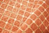 Tessuto geometrico del reticolo del jacquard del Chenille per il sofà