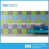 Звукоизоляционные звукоизоляционные плиты волокна полиэфира нутряной стены
