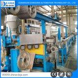 Adaptado de una sola capa de extrusión de hilo conductor de máquina de producción de cable