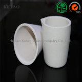 7 veces usar el crisol de cerámica de fusión de cobre del crisol de cerámica de la copela de fuego de la arcilla