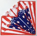 カスタマイズされたロゴの星条旗のヘッドスカーフのサッカーのヘッドスカーフ