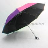 هبة زاويّة ترويجيّ يطوي قوس قزح مظلة
