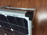 Складная солнечная панель моно 200W для кемпинга с электродвигателем дома