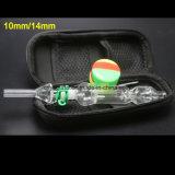 Pipes de fumage en verre de plates-formes pétrolières de Shisha de collecteur de nectar de Wholeslae 10mm/14mm