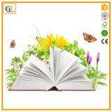Impression ronde de livre d'épine de livre À couverture dure (OEM-GL035)