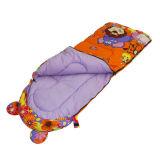 4人の季節の子供の漫画のフード付きのエンベロプの寝袋