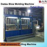 Estrada que obstrui a máquina de molde do sopro dos cilindros