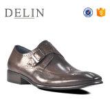 Высокого качества формального обувь для мужчин из натуральной кожи плечевой лямки ремня безопасности