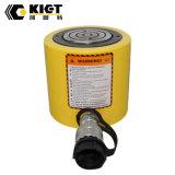 Cylindre hydraulique de hauteur inférieure à simple effet pour l'usage de levage