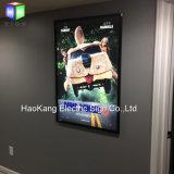 Aluminium Snap Frame Menu Board Boîte lumineuse avec feuille acrylique LED Cadre Cadre