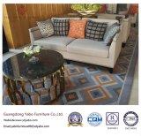 Tissu Upholsteryed Hôtel meubles avec trois Sofa (YB-O-63)