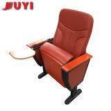 prix d'usine tissu coloré chaise pliante en bois du siège de l'accoudoir