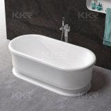 Ton van het Bad van de Steen van Sanitaryware van Kkr de Kunstmatige Marmeren Freestanding Hete (BT171123)