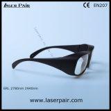2700 - 3000nm O. D 6+ óculos de segurança de laser e óculos de protecção ocular de Laserpair
