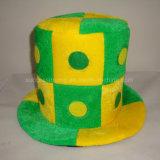 Fußball-Ventilator-Hut mit kundenspezifischem Firmenzeichen