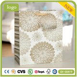 Flower White Fashion Clothing Shoes Cups Crafts Gift Paper Bag