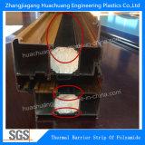 Striscia di plastica dell'espulsione della rottura termica utilizzata nel l$tipo C di Windows (12mm-34mm)
