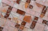 Het Mozaïek van de Badkamers van het hotel betegelt het Iriserende Roze Mozaïek van het Glas